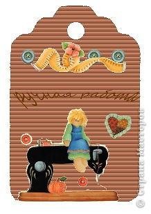 Сделала в программе для обработки фотографий  бирочки для игрушек , может ещё кому пригодятся ... фото 17