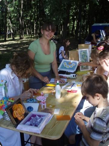 Работы которые были представлены на благотворительной ярмарке, осталась только одна: желто-зеленая шкатулка!!!!!! фото 8