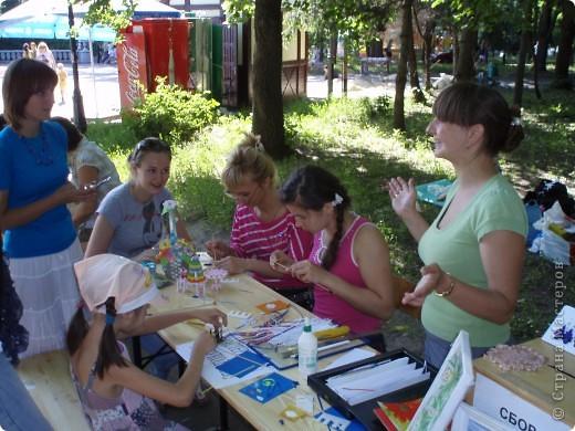 Работы которые были представлены на благотворительной ярмарке, осталась только одна: желто-зеленая шкатулка!!!!!! фото 4