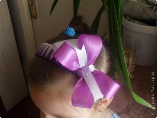 благодаря мастер-классу Amanda Kiss  у моей дочи появились такие ободки.  фото 4
