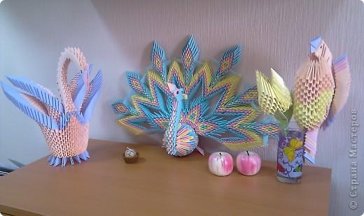 Страна мастеров птица оригами