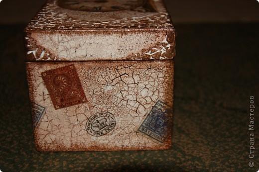 Этот сундучок я сделала для дедушке, т.к. он собирает монеты. Вот мое первое творение в мире сундучков и шкатулок. Сейчас расскажу чем я пользовалась. фото 5