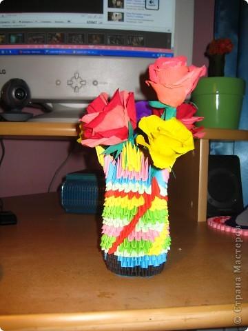 Розочки в вазе) фото 4