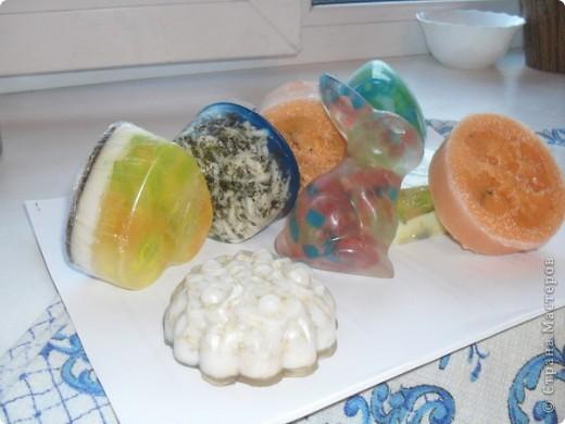 мои первые работы (мыло ручной работы) фото 1