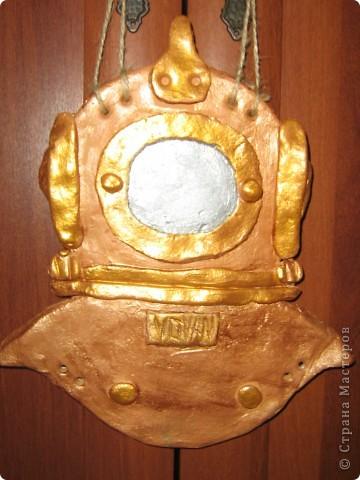 Подарок мужу. Для тех кто в курсе - это трехболтовка, символ водолазного дела.  фото 1