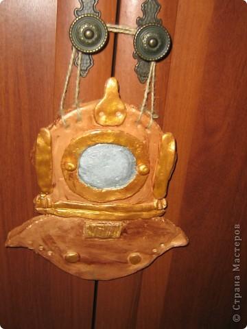 Подарок мужу. Для тех кто в курсе - это трехболтовка, символ водолазного дела.  фото 2