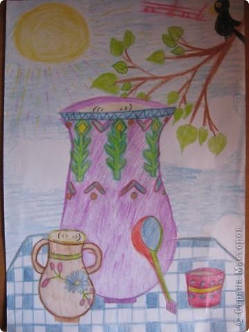 рисунок моей дочки( 8 лет)