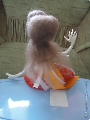 Вообще хотелось сделать куклу не похожую на всех и нестандартную. Но как всегда - не получилось фото 2