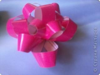 розовый бантик фото 1