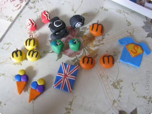 Мои серьги из пластики фото 2