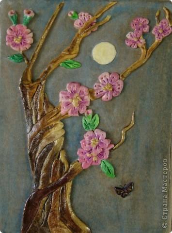 """Задание - """"Дерево"""" лепили мои ученики 4 класса школы искусств Это деревце Юли 14 лет фото 5"""