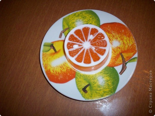 Ура, у меня появилась новая формочка!  Апельсинка - для любой кожи с максимальным увлажнением - масло авокадо  и касторовое, Ши (карите) , ЭМ апельсина.  Аромат ЭМ апельсина повышает настроение и дарит чувство свежести))))  фото 1