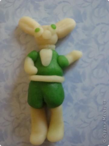 Вот такого зайца слепила моя дочка,а потом съела. фото 1