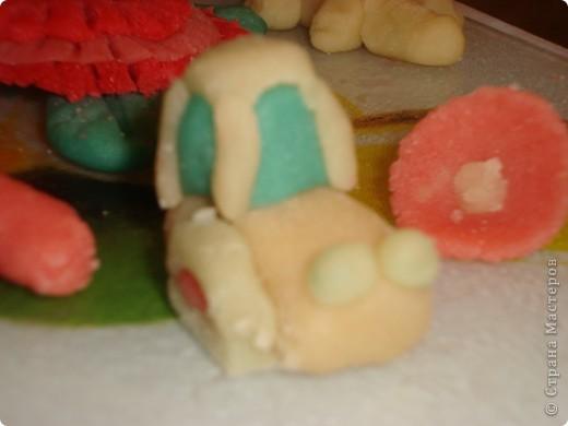 Вот такого зайца слепила моя дочка,а потом съела. фото 2