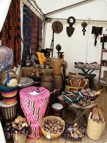 Африка-фестиваль 2011. Часть 3. Ткани, сумки, обувь, барабаны фото 47