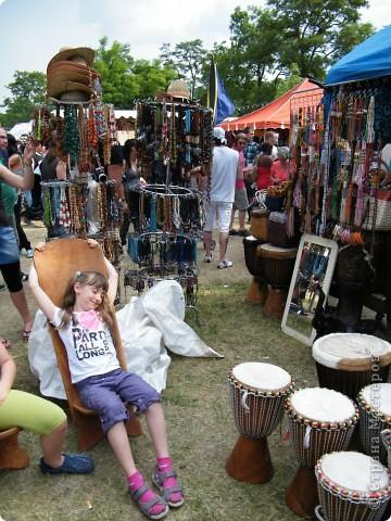 Африка-фестиваль 2011. Часть 3. Ткани, сумки, обувь, барабаны фото 51