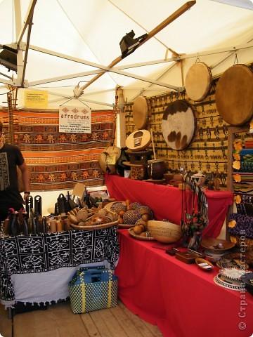 Африка-фестиваль 2011. Часть 3. Ткани, сумки, обувь, барабаны фото 44
