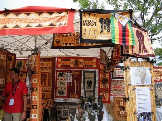 Африка-фестиваль 2011. Часть 3. Ткани, сумки, обувь, барабаны фото 6