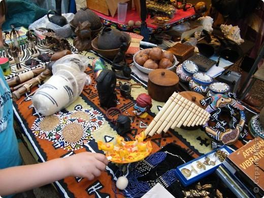 Африка-фестиваль 2011. Часть 3. Ткани, сумки, обувь, барабаны фото 60