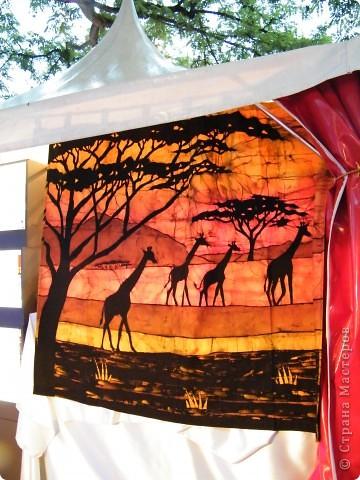 Африка-фестиваль 2011. Часть 3. Ткани, сумки, обувь, барабаны фото 1