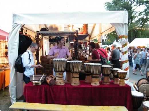 Африка-фестиваль 2011. Часть 3. Ткани, сумки, обувь, барабаны фото 61