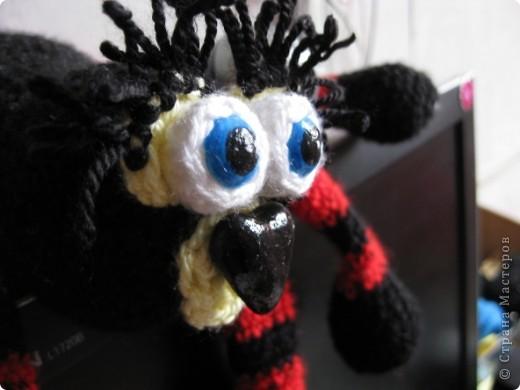 Вот такой гамак-паук для игрушек фото 5