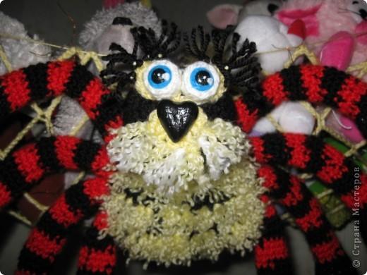 Вот такой гамак-паук для игрушек фото 4