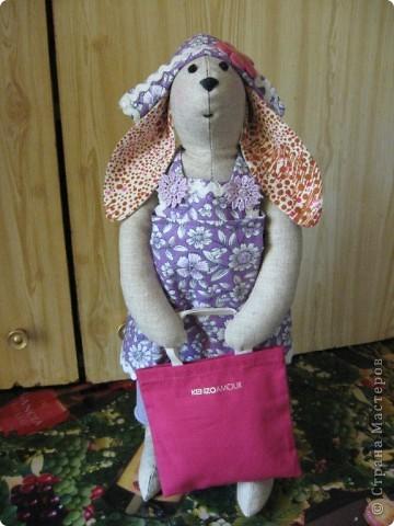 И вновь-здравствуйте, мои дорогие! Познакомтесь-это моя модница Кроля :))) фото 1