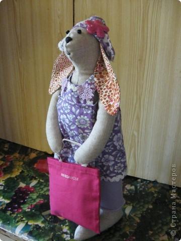 И вновь-здравствуйте, мои дорогие! Познакомтесь-это моя модница Кроля :))) фото 3