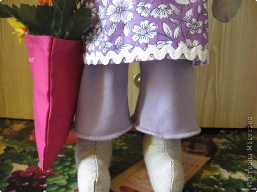 И вновь-здравствуйте, мои дорогие! Познакомтесь-это моя модница Кроля :))) фото 4