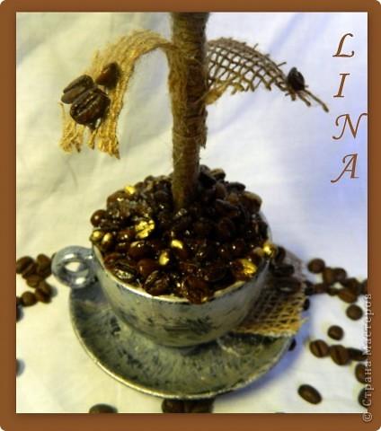 Вот ну совсем нельзя в чашке кофеёк оставить,сразу дерево ростёт:))) фото 4