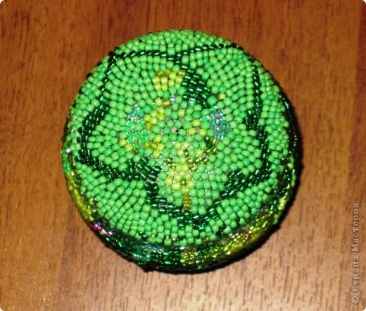 Вот такую баночку-шкатулочку я сотворила, насмотревшись на произведения Светланы 79 http://stranamasterov.ru/user/48727 фото 4