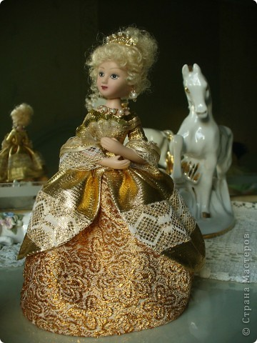 Вот и новая дама  - Анжелика. Она была переделана из второй Сони Мармеладовой. фото 1