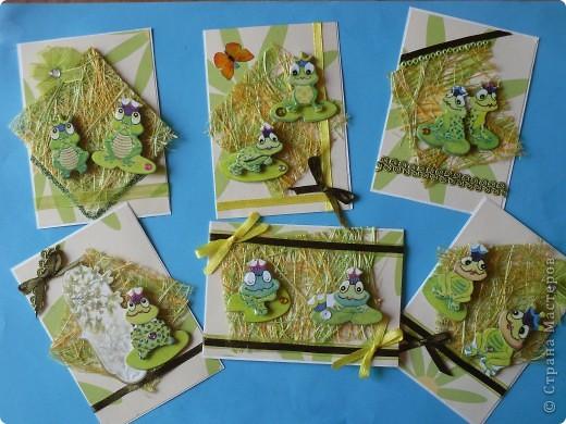 На этот раз серия получилась опять детская и такая зеленая, что в ней завелись лягушки: сплошь царевны. фото 1