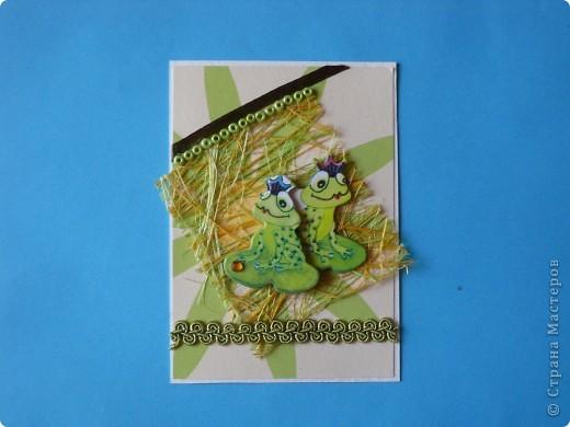 На этот раз серия получилась опять детская и такая зеленая, что в ней завелись лягушки: сплошь царевны. фото 2