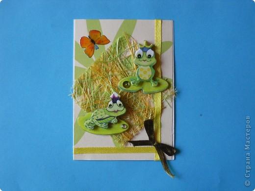 На этот раз серия получилась опять детская и такая зеленая, что в ней завелись лягушки: сплошь царевны. фото 3