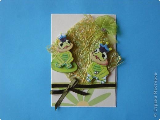 На этот раз серия получилась опять детская и такая зеленая, что в ней завелись лягушки: сплошь царевны. фото 4