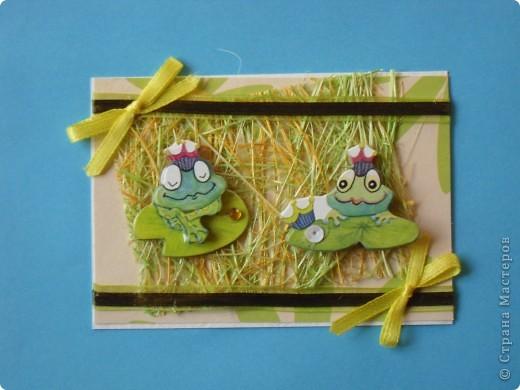 На этот раз серия получилась опять детская и такая зеленая, что в ней завелись лягушки: сплошь царевны. фото 7