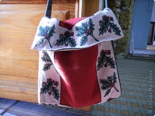 Увидела на рынке индийскую сумку, решила сшить себе такую же фото 2
