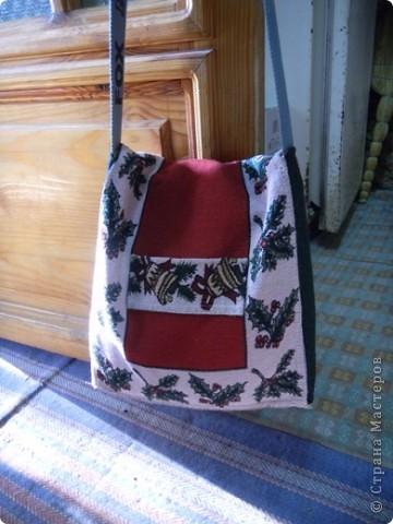 Увидела на рынке индийскую сумку, решила сшить себе такую же фото 3
