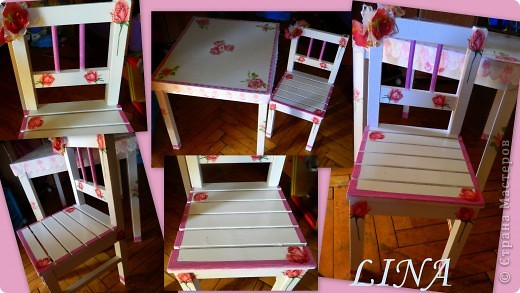 Ну вот и стульчик свояла к столику http://stranamasterov.ru/node/201968 фото 1