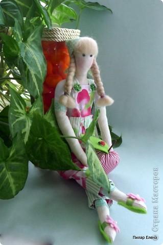 Во саду ли, в огороде (тильда садовница) фото 2