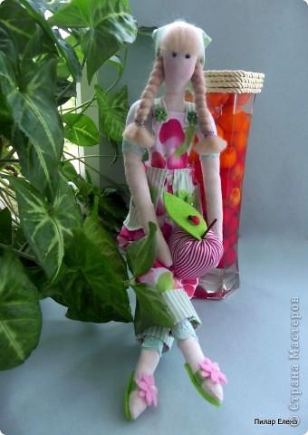 Во саду ли, в огороде (тильда садовница) фото 1