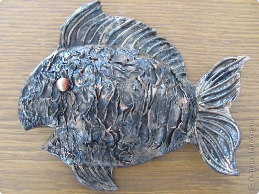 Папье-маше. Рыбы. фото 2