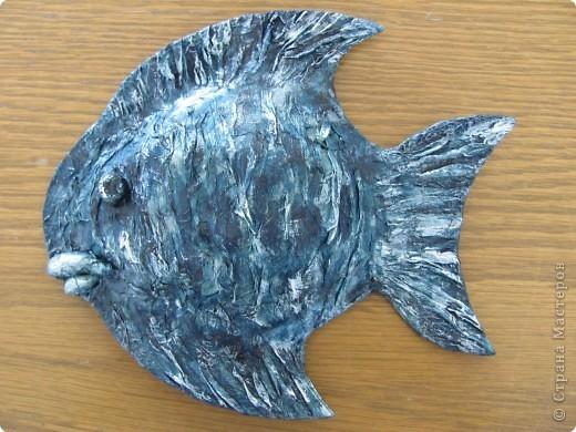 Папье-маше. Рыбы. фото 3