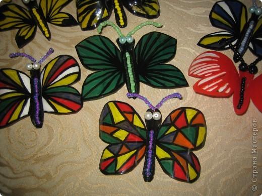 Здесь в СМ живет очень много красивых бабочек. Насмотрелась я на эту красоту и решила поселить у себя этих прекрасных созданий  фото 3