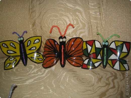 Здесь в СМ живет очень много красивых бабочек. Насмотрелась я на эту красоту и решила поселить у себя этих прекрасных созданий  фото 4