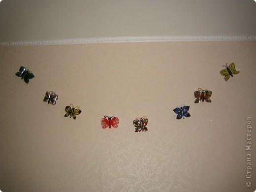Здесь в СМ живет очень много красивых бабочек. Насмотрелась я на эту красоту и решила поселить у себя этих прекрасных созданий  фото 5