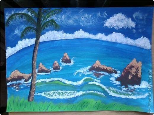 Спасибо Галёне за такие подробные МК!!! Прибрежная пальма http://stranamasterov.ru/node/193097 фото 1