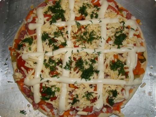 Я очень люблю пиццу, поэтому с удовольствием помогаю маме её готовить.  фото 7
